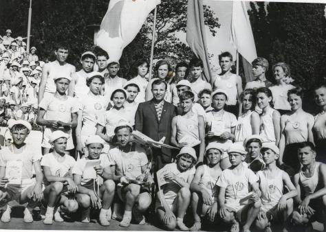 gagarin in crimea